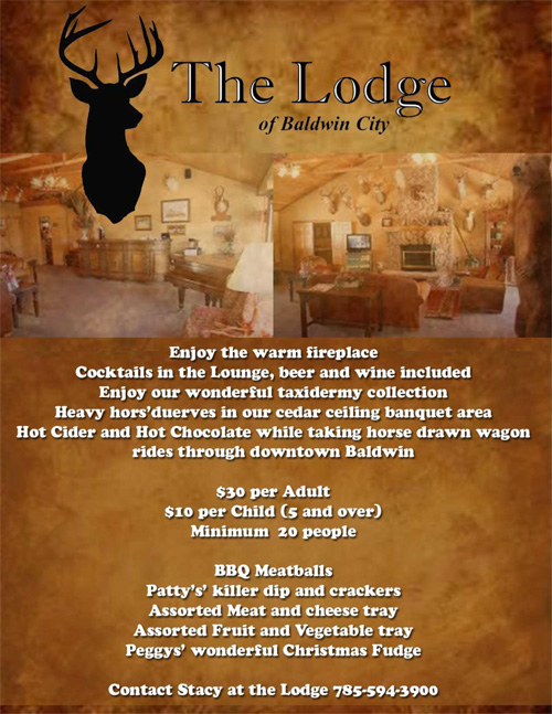 The Lodge Holiday Party Options