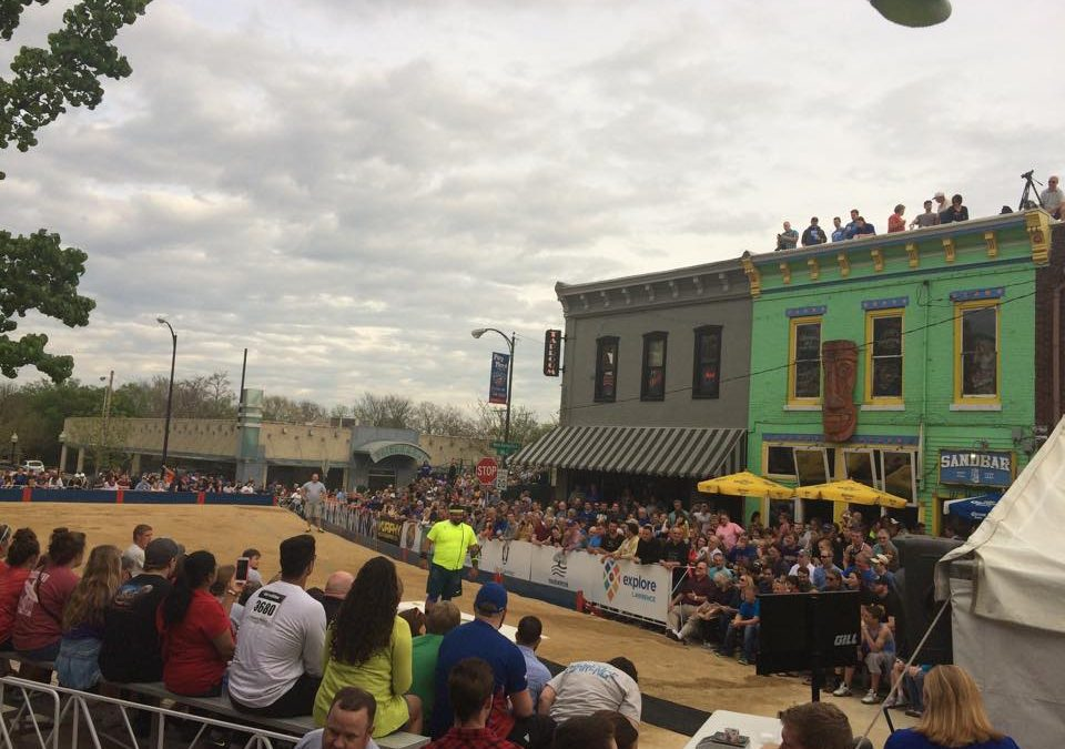 Downtown Shot Put returns for another year